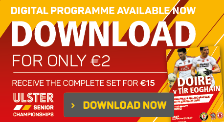 Ulster Championship 2016 - Derry v Tyrone - Download Now