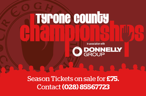 Donnelly Vauxhall Tyrone Club Championship Season Tickets Now On Sale