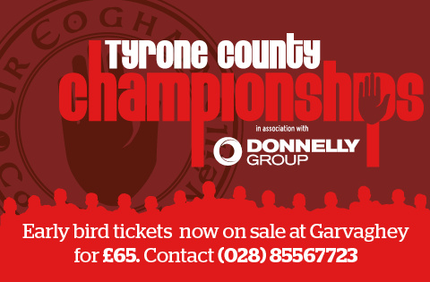 Donnelly Vauxhall Tyrone Club Championship Tickets Now On Sale