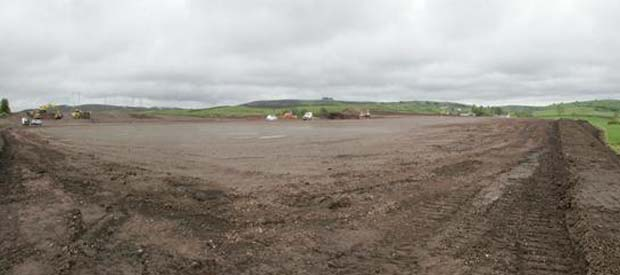 Garvaghey Site Levelling Complete