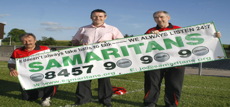 Tyrone GAA Support Samaritans
