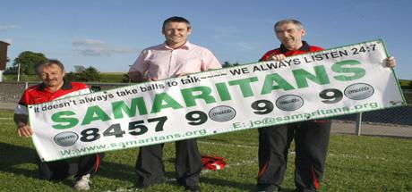 Tyrone GAA Support Samaritans