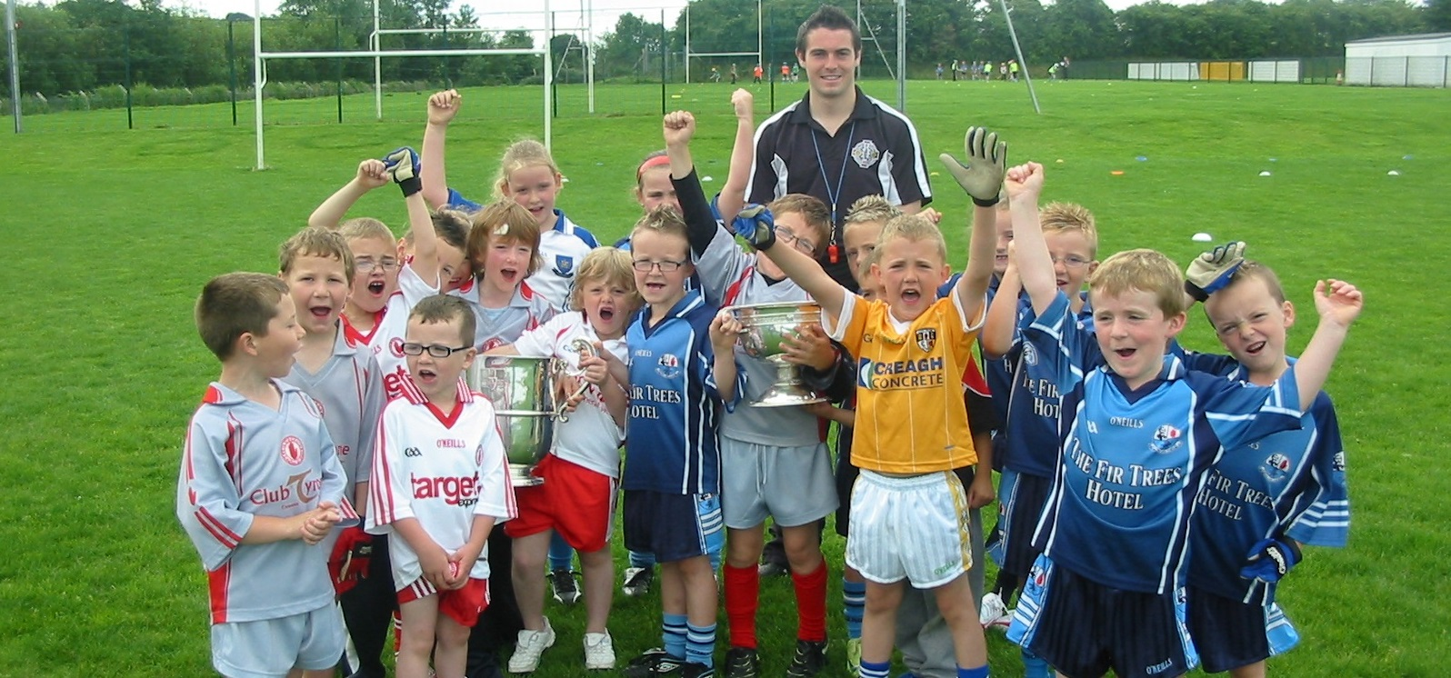 Ulster Cups Visit Summer Camp