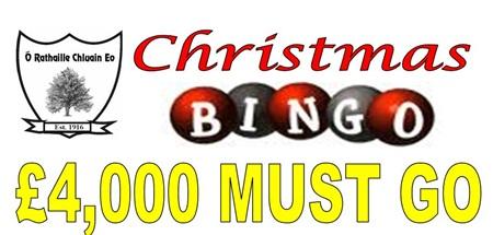 Clonoe Host Bingo Fundraiser