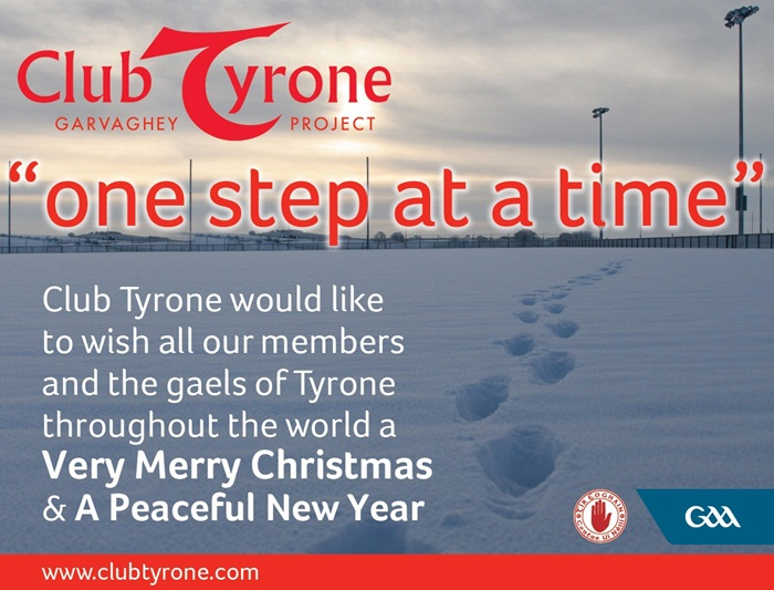 Happy New Year from Club Tyrone