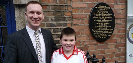 Sigerson Plaque Launch in Dublin