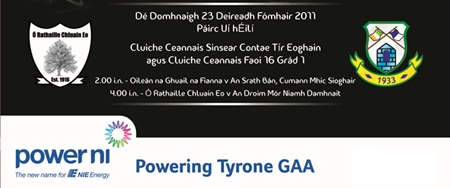 Tyrone Senior Championship Final Goes Ahead