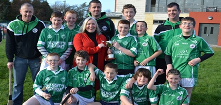 Shamrocks Win McGurn Cup