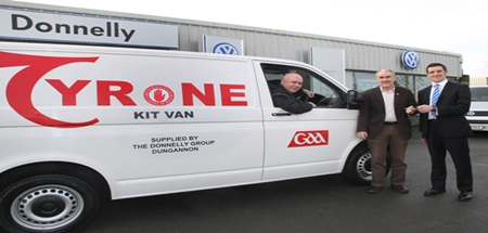 Donnelly Group Sponsor New Kit Van