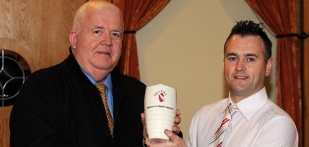 Mickey Lifts Ulster GAA Writers' Award