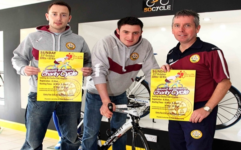 Clogher Éire Óg's Charity Cycle