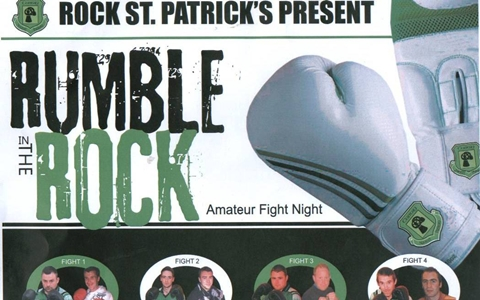 'Rumble In The Rock' : Rock Fundraiser