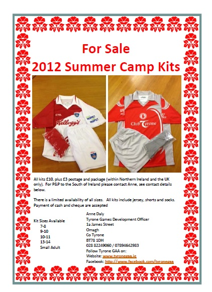 Summer Camp Kits Now on Sale