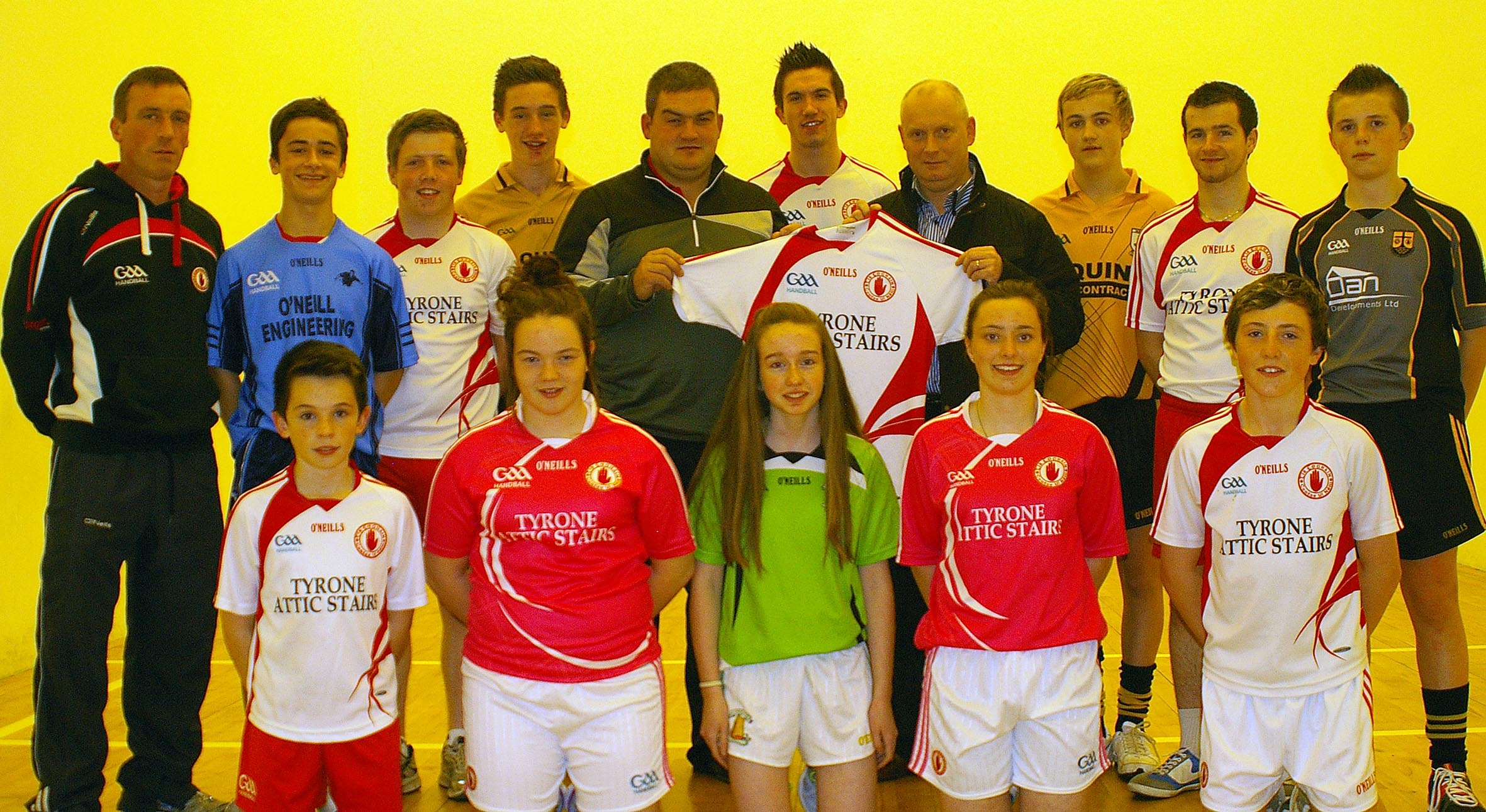 Tyrone GAA Handball club season gets underway