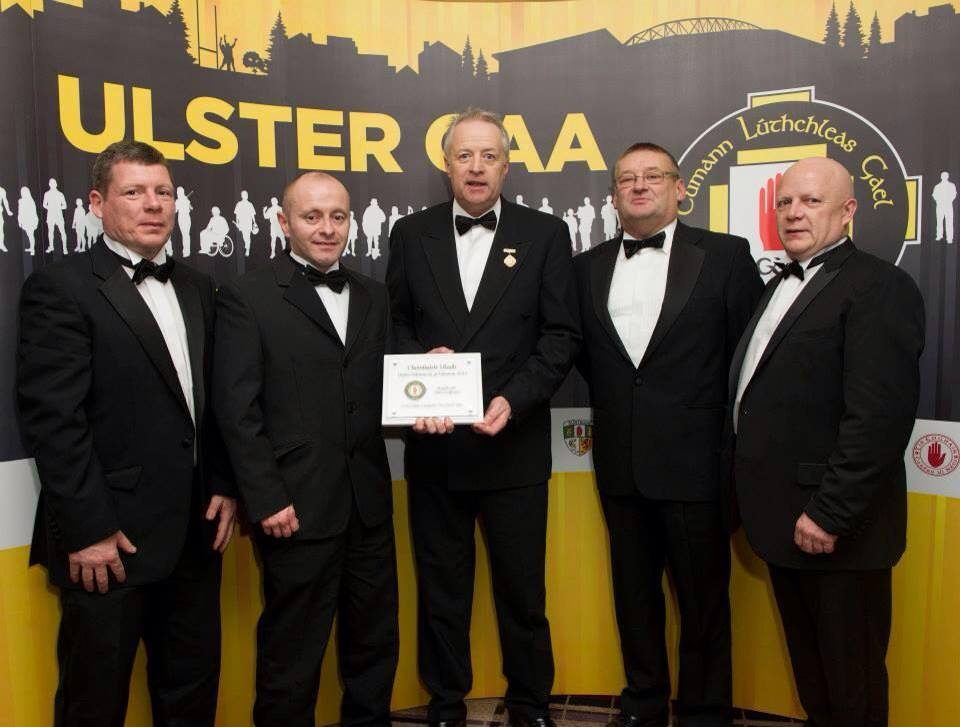 Strabane take coaching prize at Ulster G.A.A. President's Awards