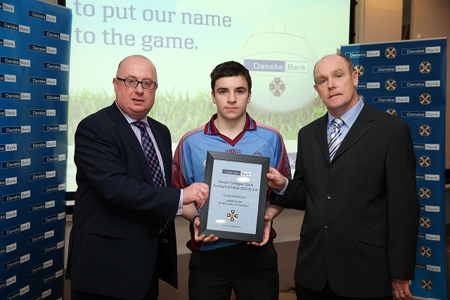 Tyrone schools and players collect Ulster Colleges All Stars