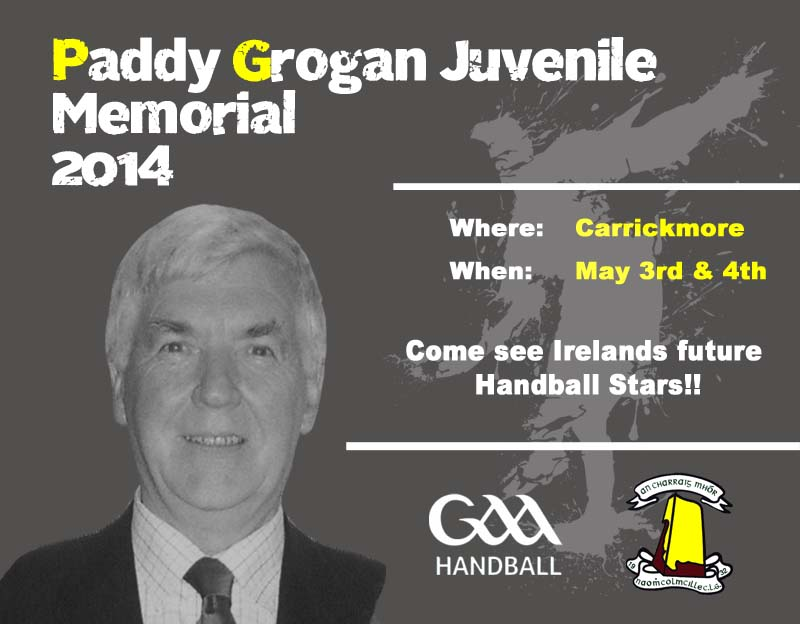 Handball – Paddy Grogan Memorial tournament this weekend