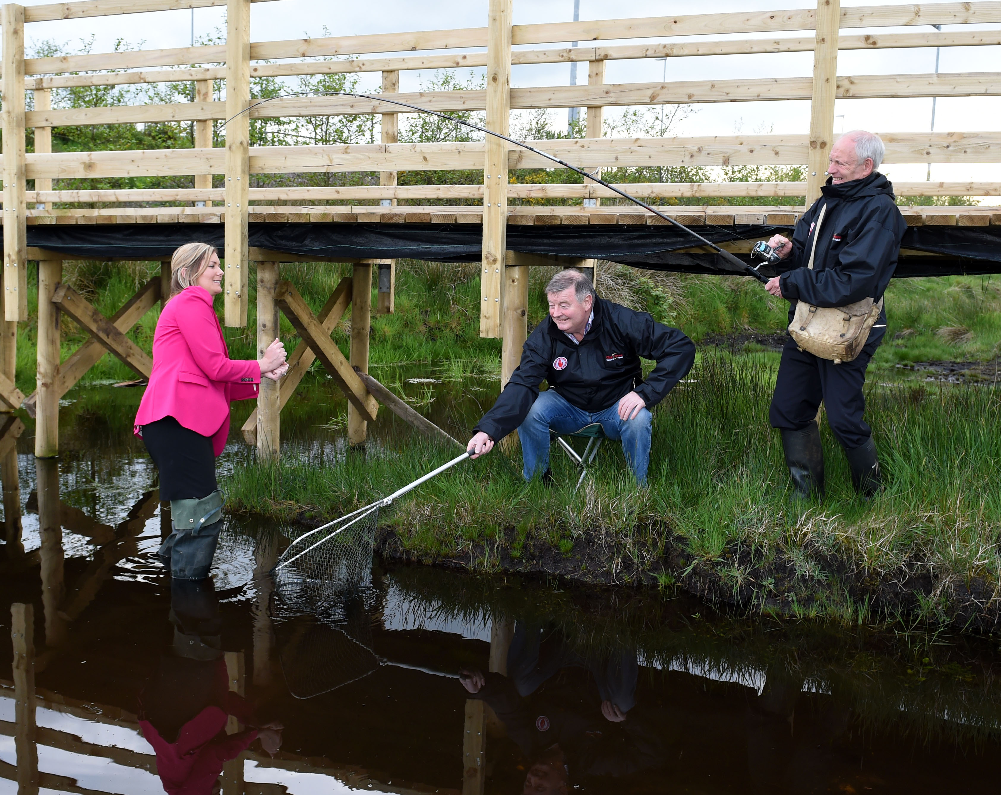 CLUB TYRONE CASTS ITS NET