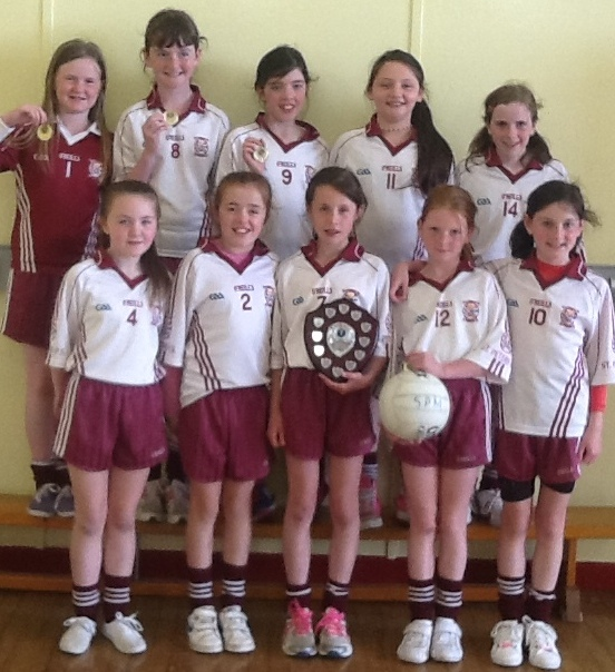 Allianz Cumann Na mBunscol Girls' Outdoor Football League.