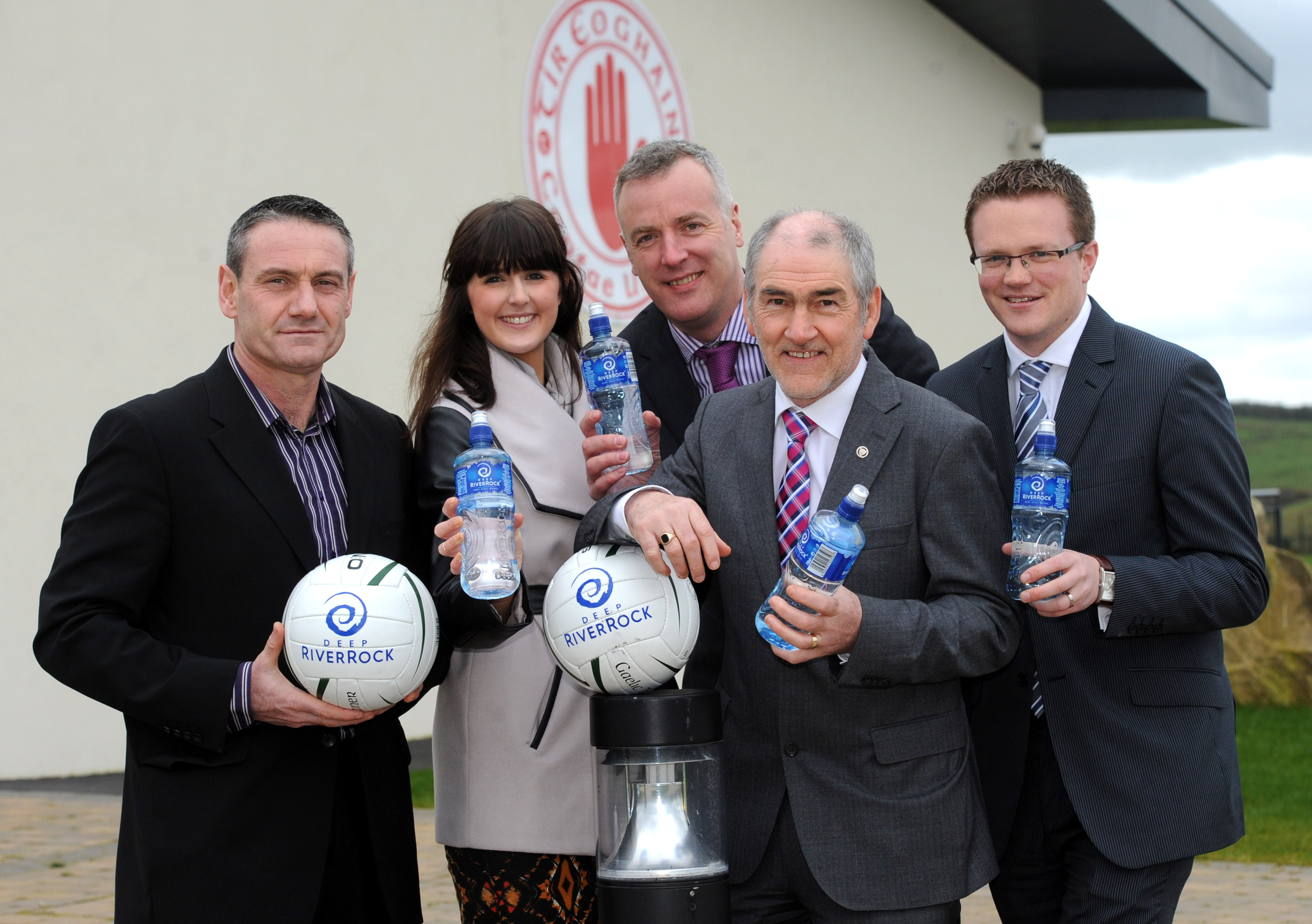 Tyrone GAA announce new brand partnership with Deep RiverRock Water