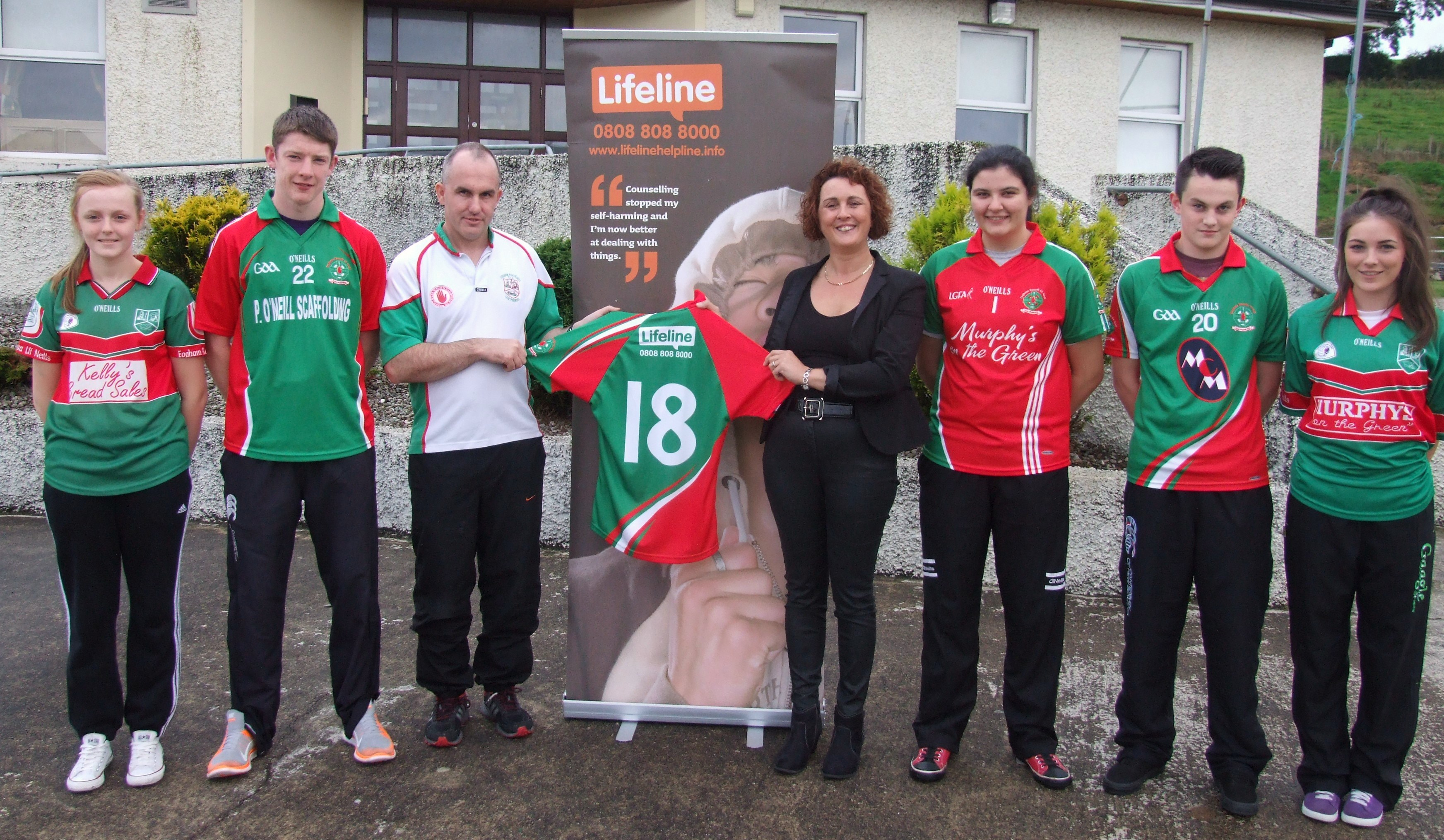 Owen Roes team up with Lifeline