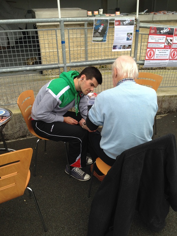 Health and Wellbeing services on offer at IFC & JFC Finals