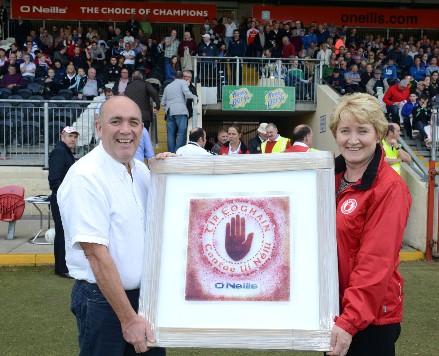 Tyrone GAA make presentation to Sponsors