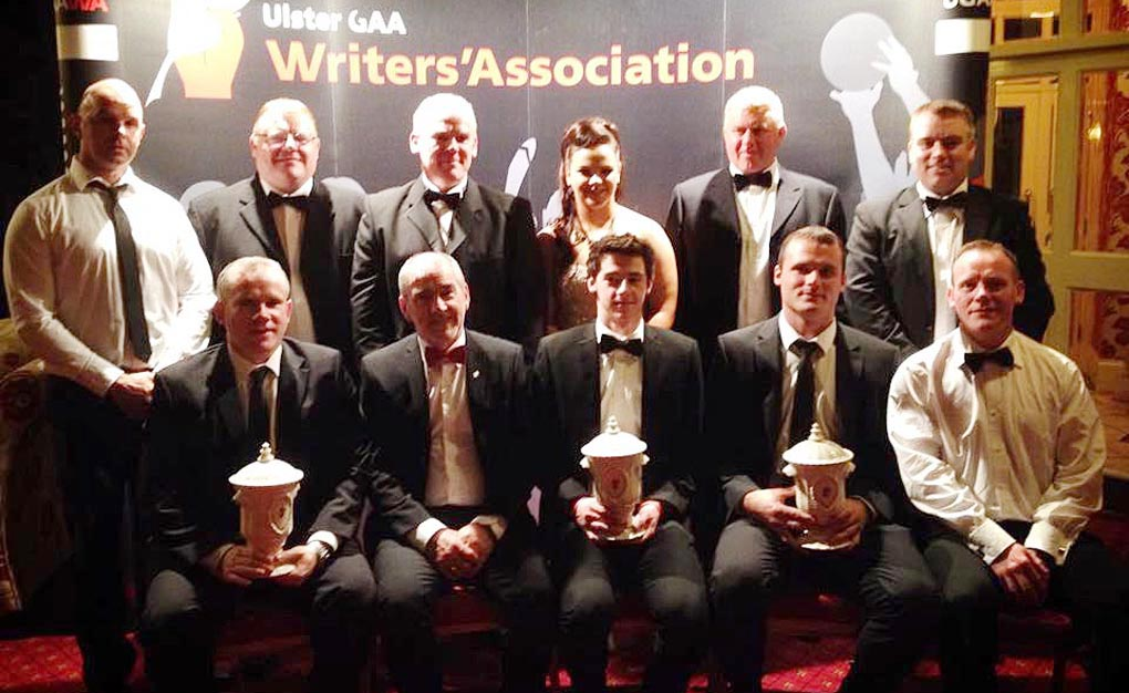 Tyrone handball honoured with 2 gongs at Ulster GAA Writers Awards 2014