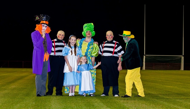 Moortown St. Malachy's GAC presents ALICE IN WONDERLAND, December 2014