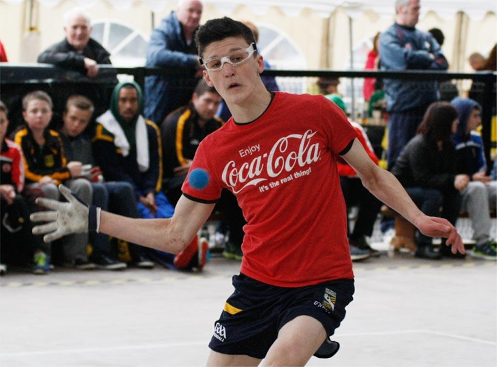McElduff claims Tyrone GAA Handball Premier League crown