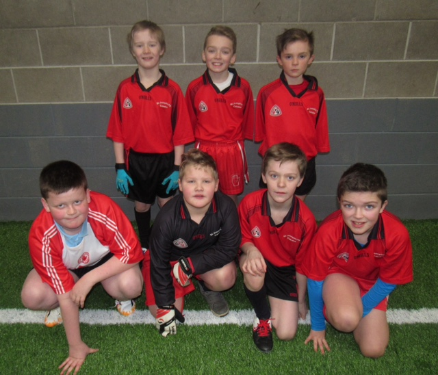 ALLIANZ Cumann na mBunscol – Boys' INDOOR FOOTBALL Heat 5: LOUGHVIEW