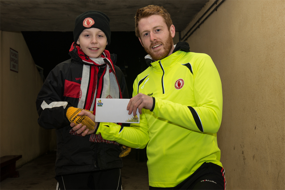 Primary School Draw Winners from Tyrone v Derry game