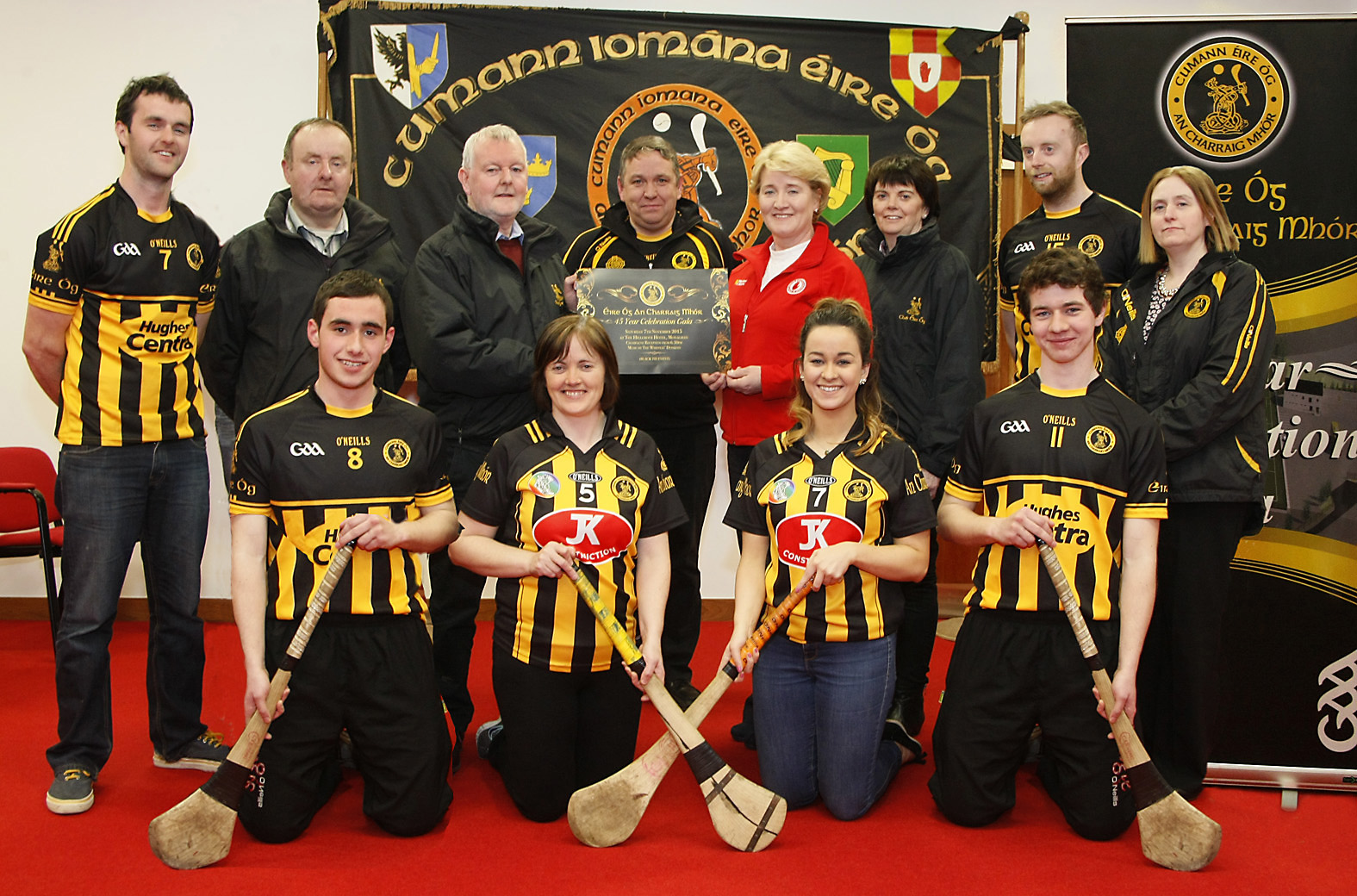 Éire Óg An Charraig Mhór Hurling and Camogie Club Gala Launch