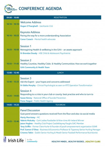 GAA National Health & Wellbeing Conference - Conference Flyer-page-002