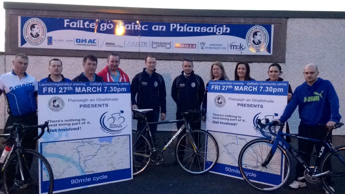 Galbally 'Path of the Pearses' Cycle Launch