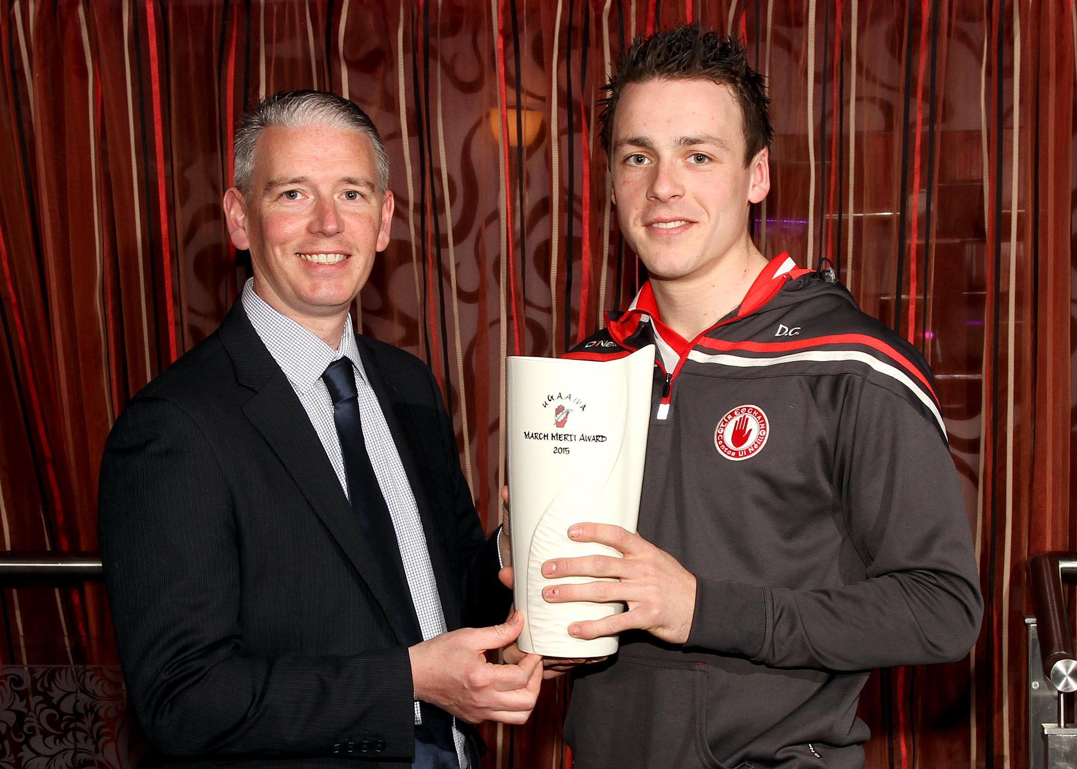 Senior captain Damian Casey claims Ulster GAA writers merit award