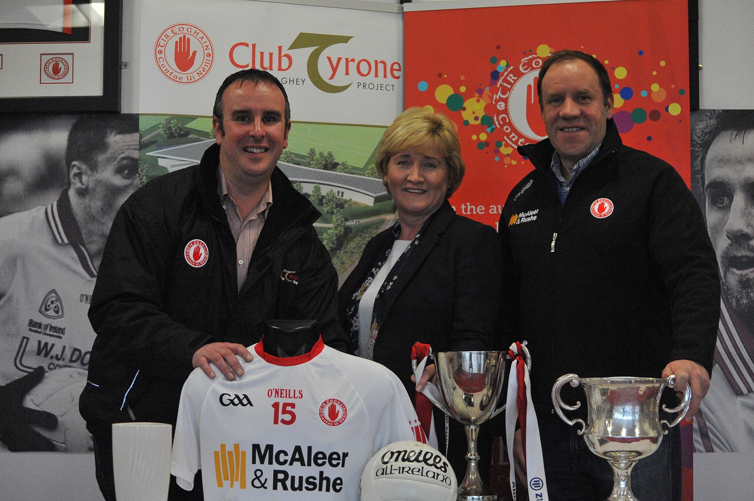 Acadamh Thír Eoghain Launch at Club Tyrone Members' Night