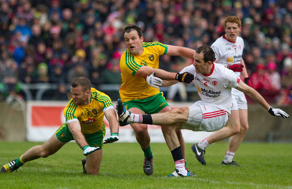 ULSTER SFC PRELIMINARY ROUND: DONEGAL 1-13 TYRONE 1-10