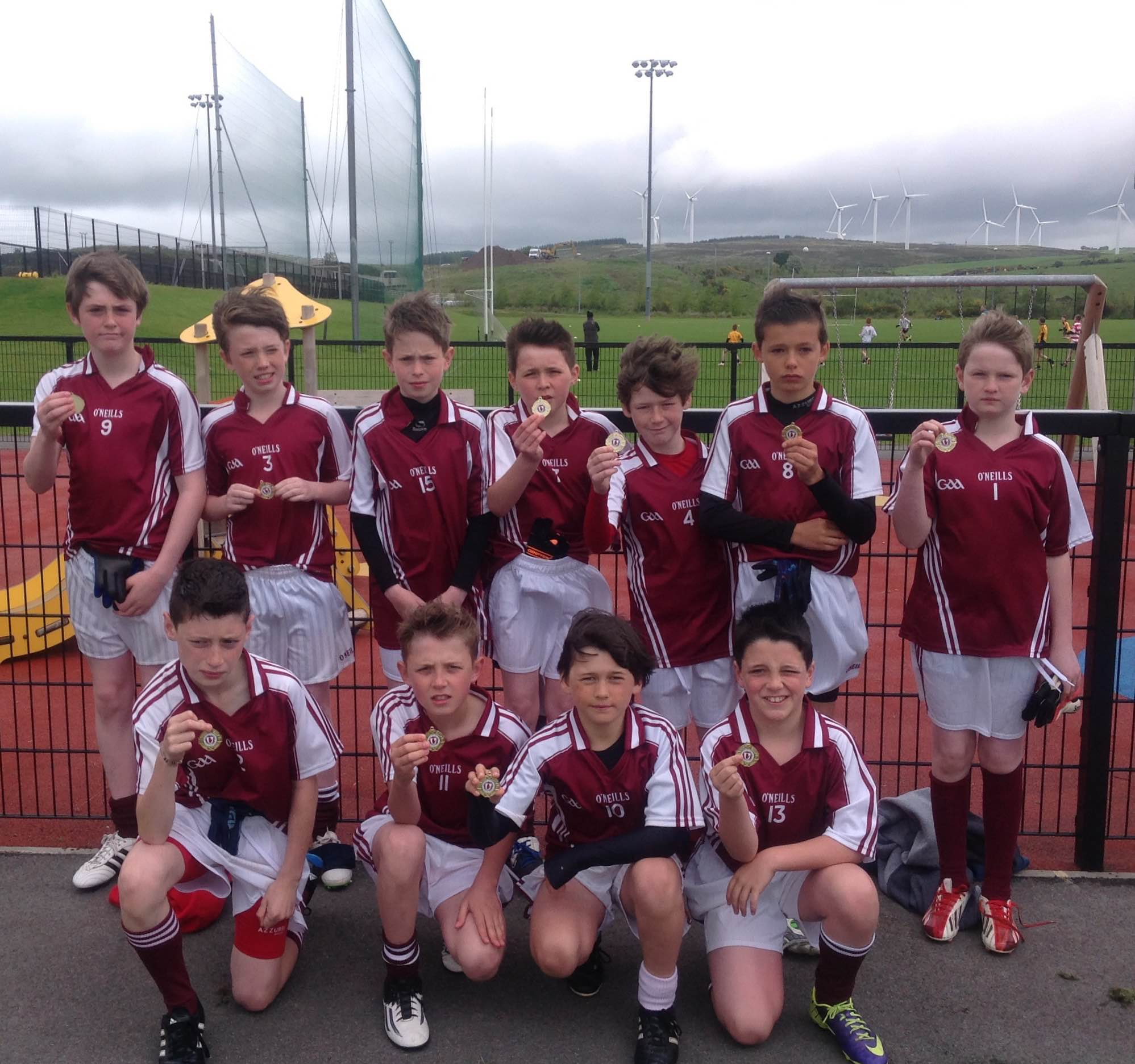 Allianz Cumann na mBunscol Tyrone Finals Day 2015