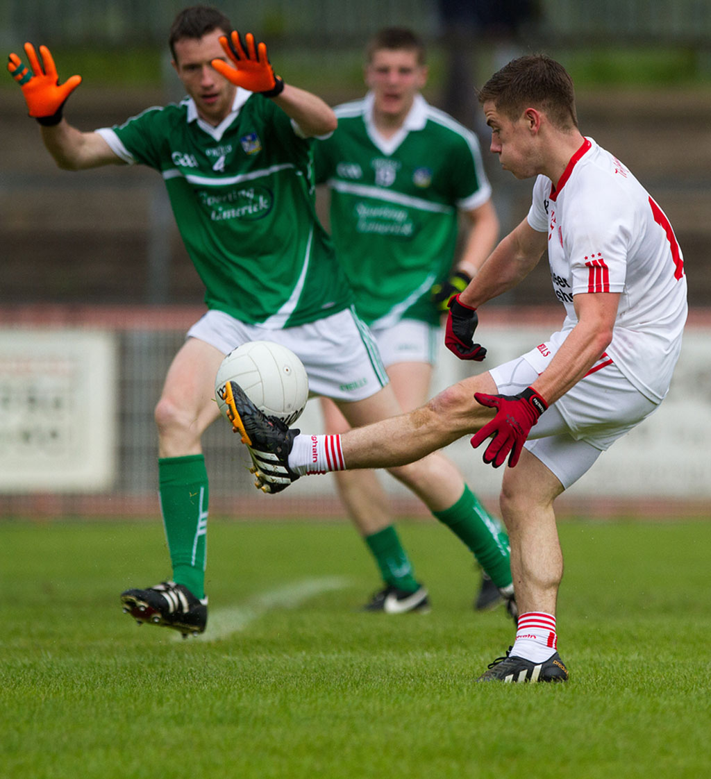 Tyrone defeat Limerick to advance in qualifiers