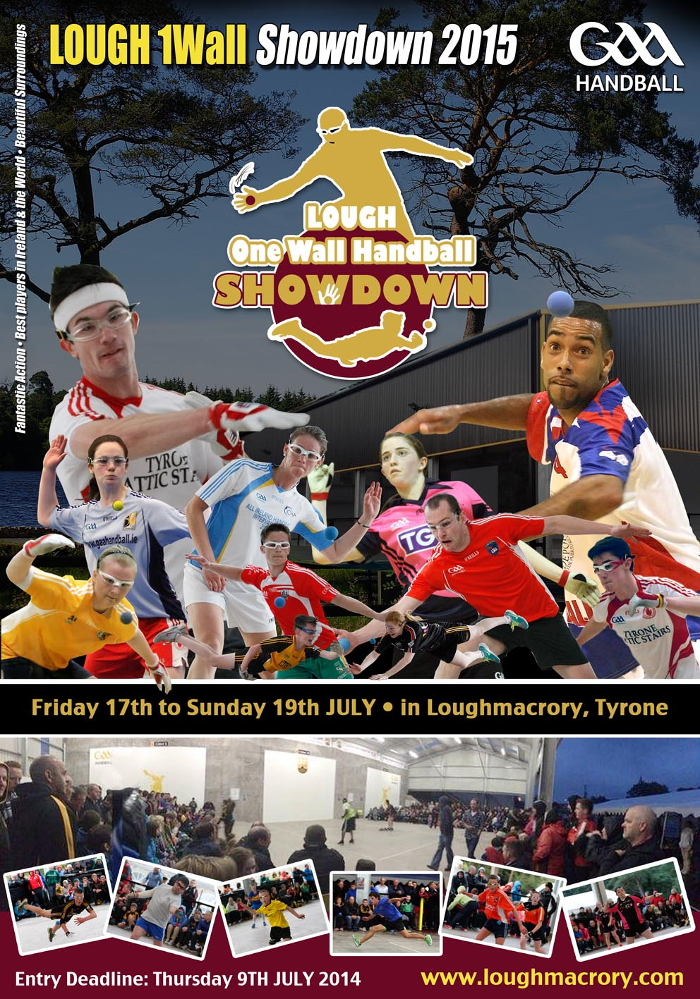 Lough 1Wall Showdown GAA Handball Tournament 2015