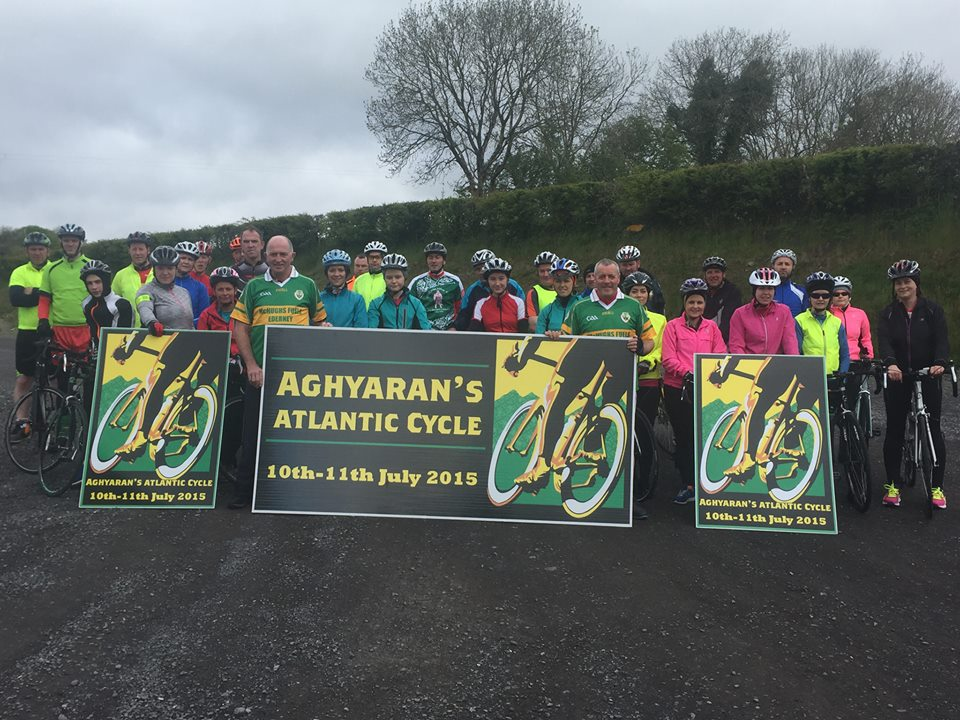 Aghyaran's Atlantic cycle 10 – 11 July