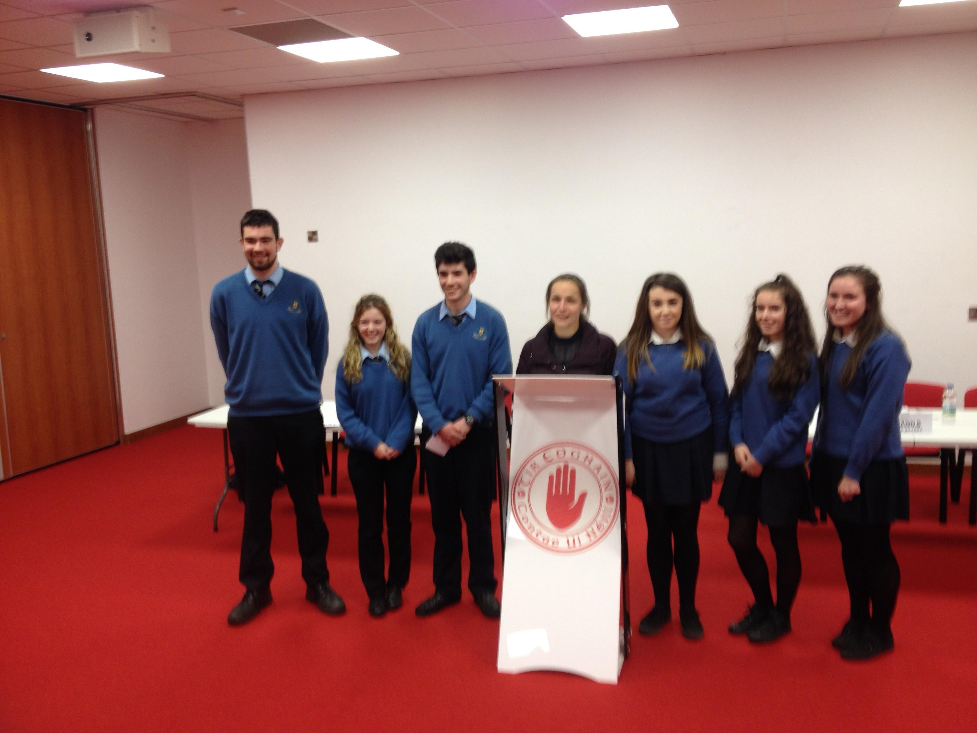 Garvaghey hosts Gael Linn debate