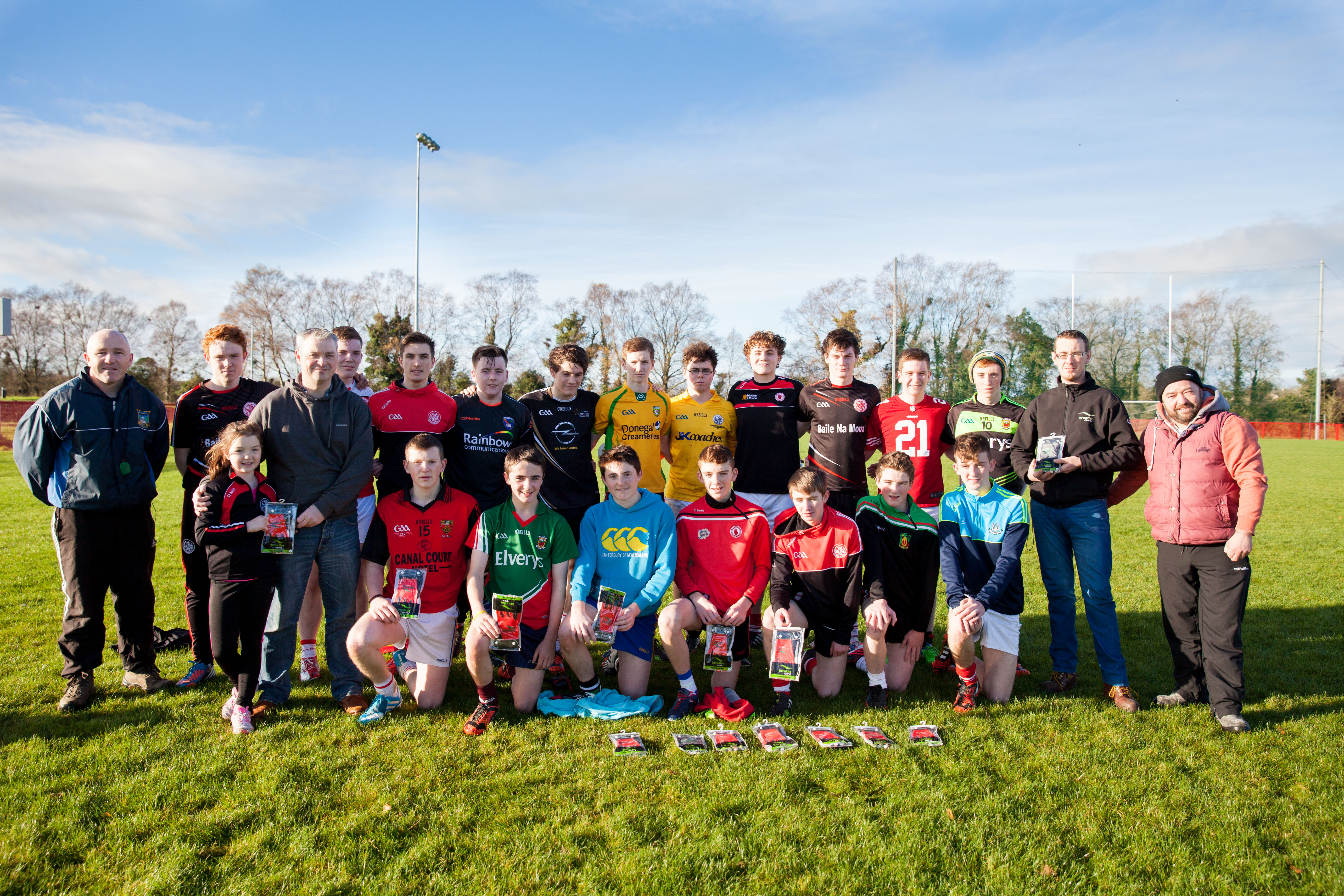 Moortown in Ulster Minor Championship action this Saturday