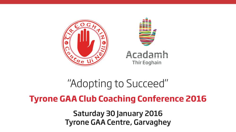 Tyrone GAA Coaching Conference 2016