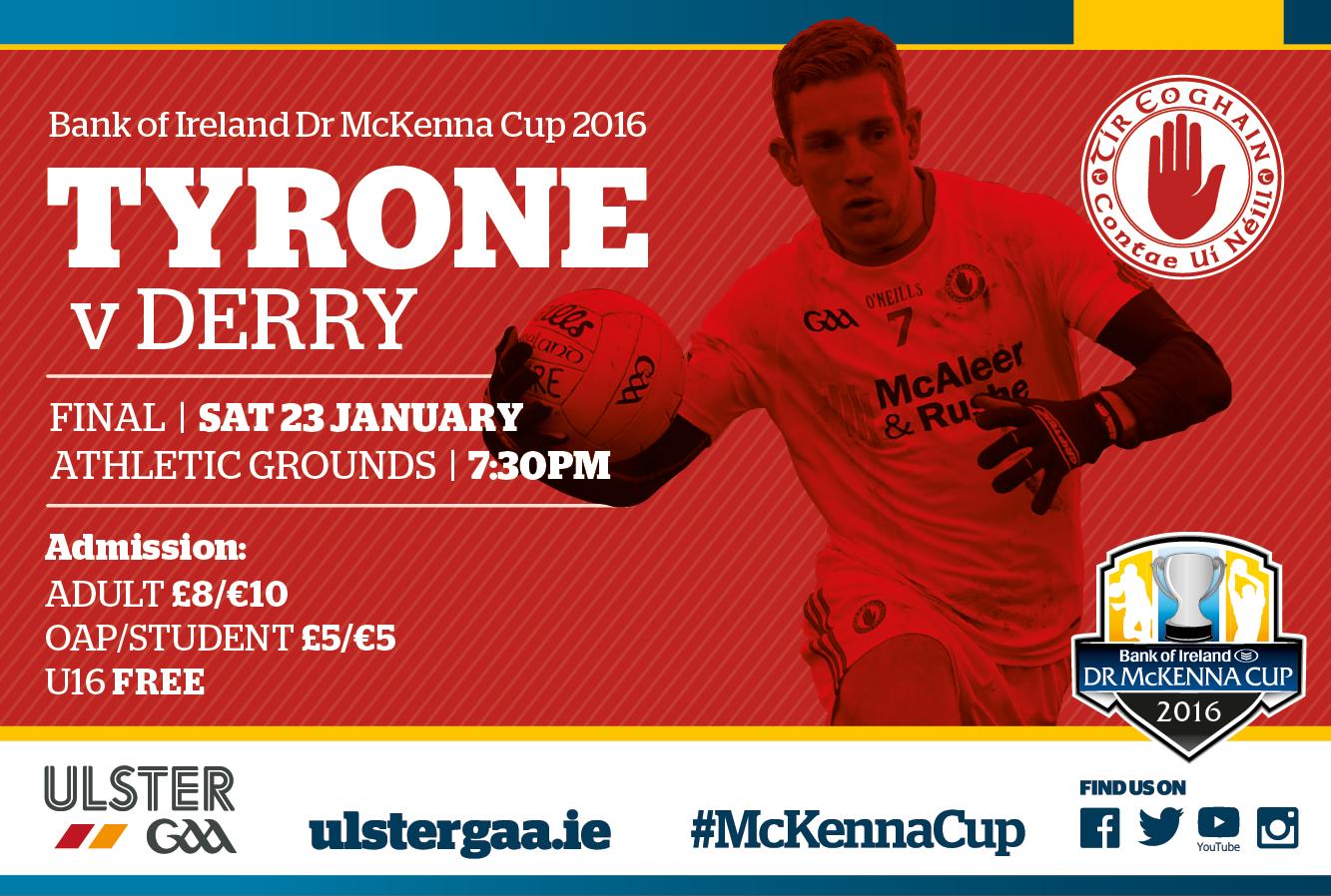 McKenna Cup Final Tonight
