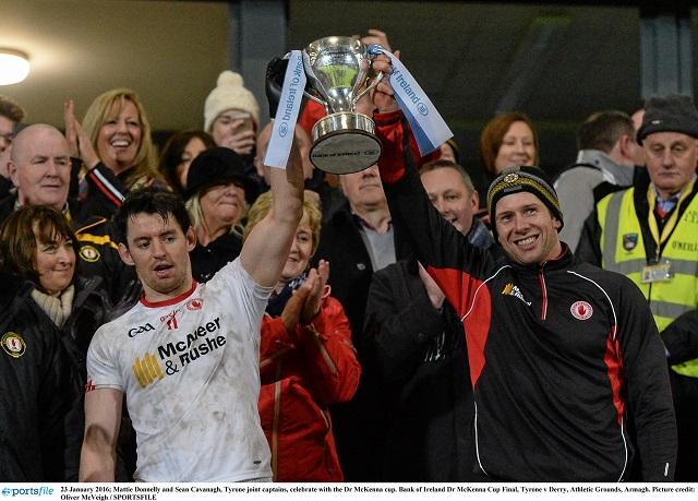 Bank of Ireland Dr. McKenna Cup Final: Tyrone 1-22 Derry 1-17 (AET)