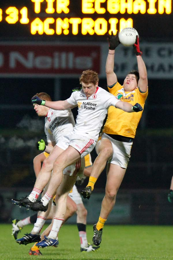 Tyrone qualify for McKenna Cup Semi Final with win over Antrim