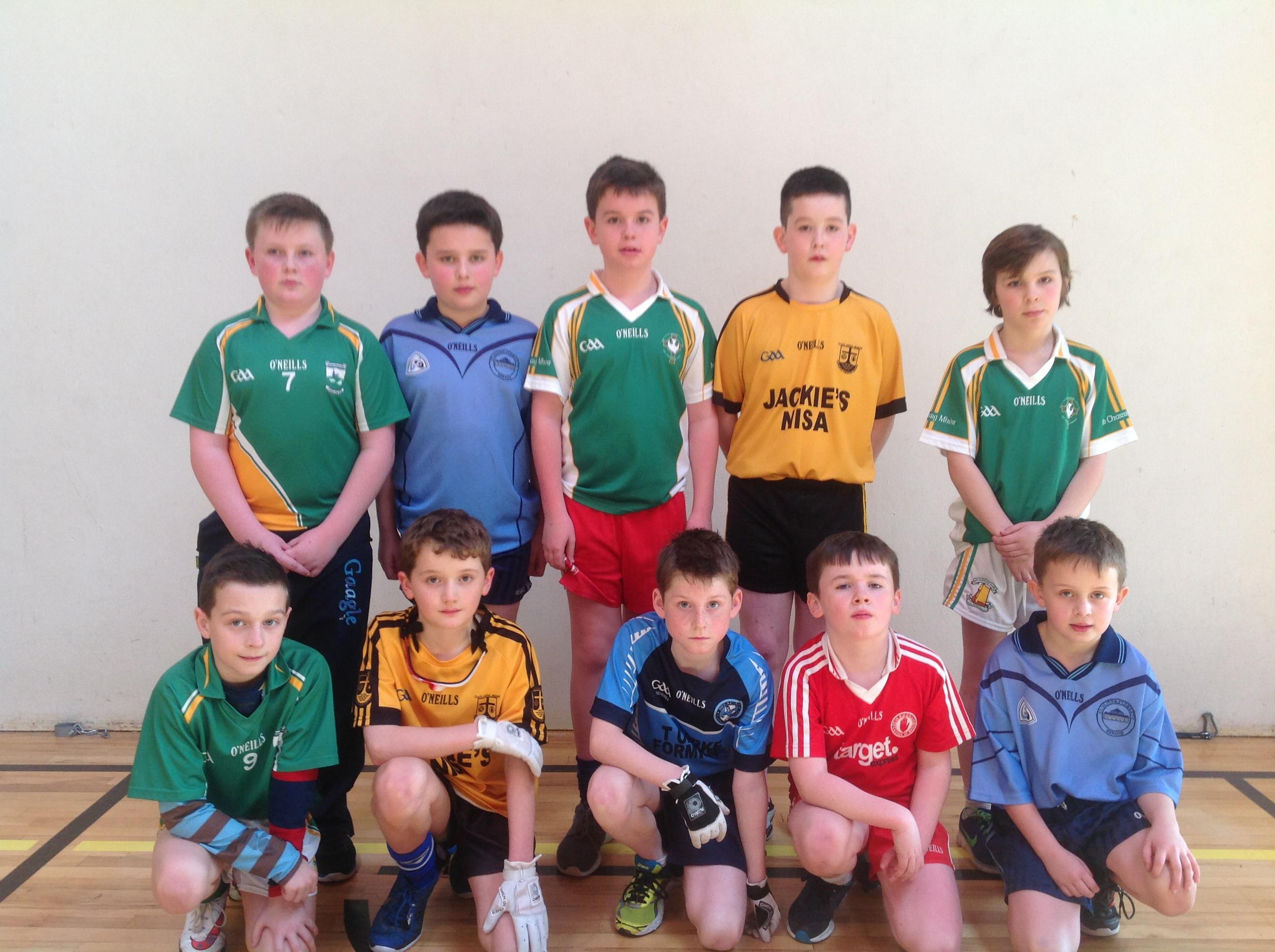 Allianz Cumann na mBunscol Thír Eoghain:4 Wall Handball Tyrone Finals 2016