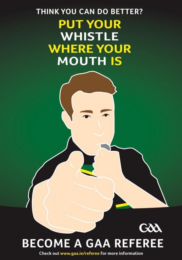 Tyrone GAA Referee Recruitment Drive
